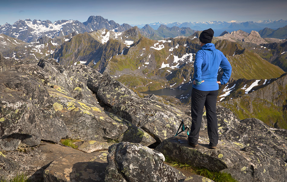 Hiking Matmora Lofoten