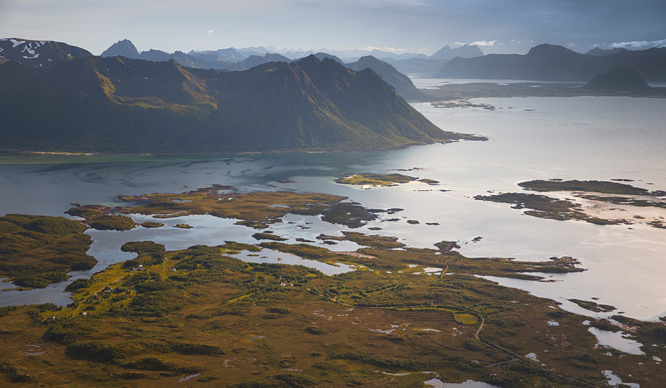 Matmora Lofoten, summit views