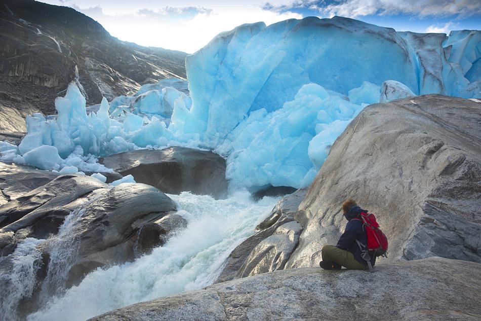 Jostedalbreen glacier hike