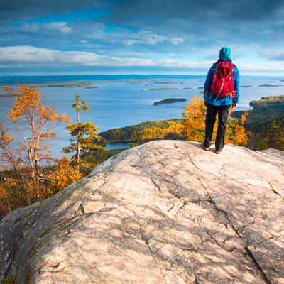 Roaming the hills and forests of Koli National Park in Finland