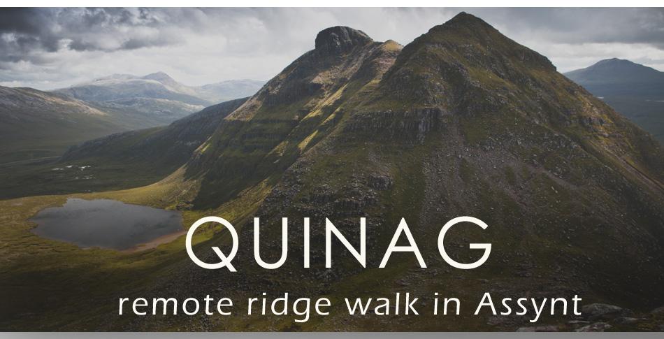 quinag assynt mountains
