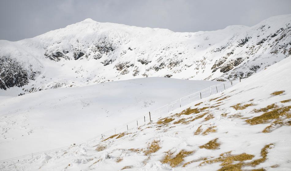 winter hikes in scotland