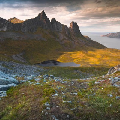 Our experience hiking the mighty Inste Kongen on Senja, Norway