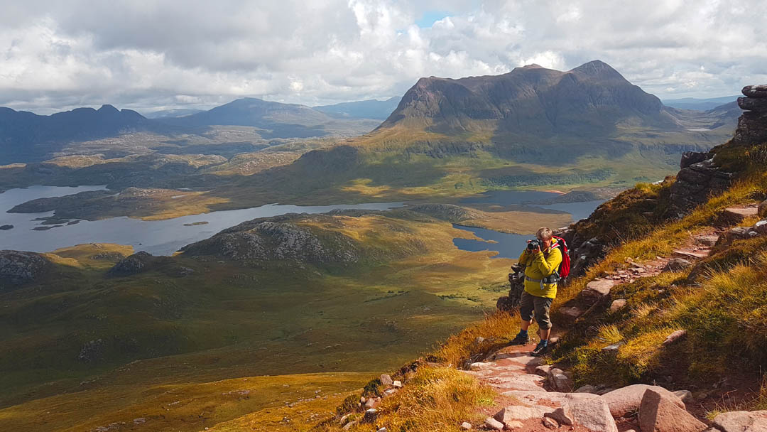 best day hikes scotland summer Stac Polly