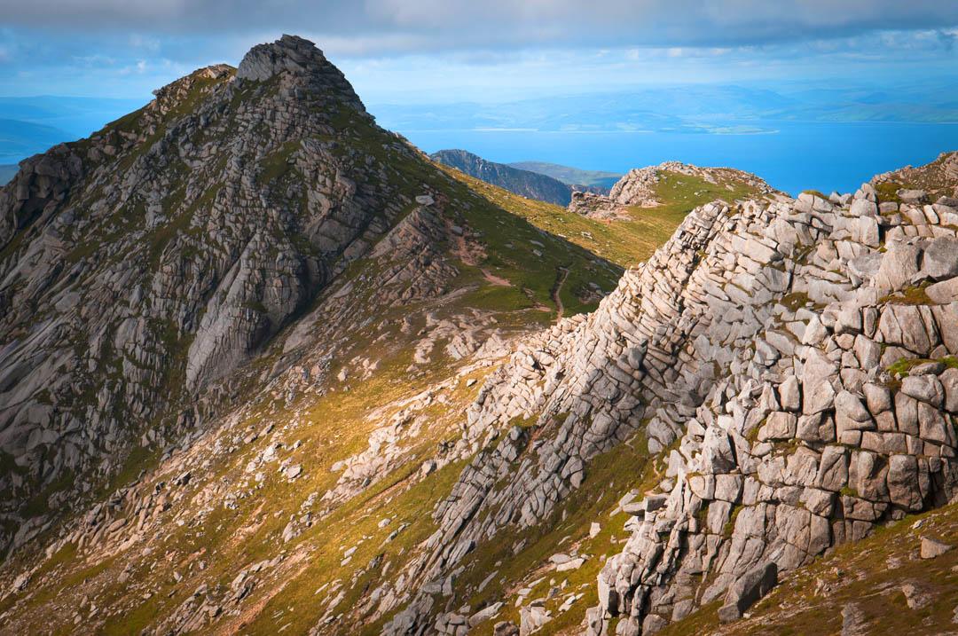 Hike to Goatfell, a fine walking adventure on Isle of Arran, Scotland -  Stunning Outdoors