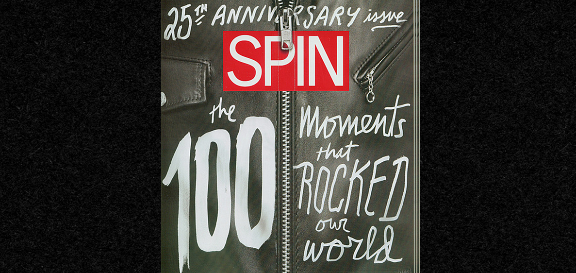 The Schott Perfecto Makes The Cover Of SPIN Magazine!