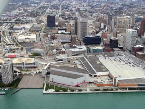 """The exterior is so bland, I feel like you could play """"Where's Waldo?"""" with Joe Louis Arena."""