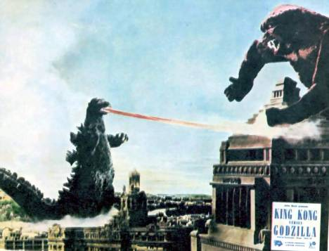 Godzilla and King Kong really knew how to rampage
