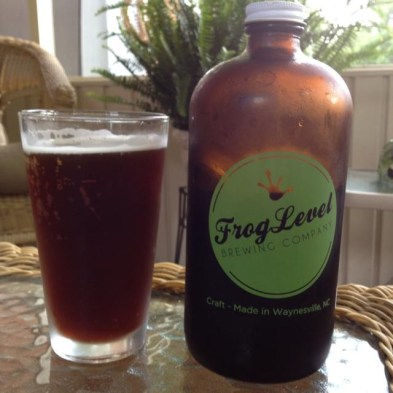 Frog Level Brewing Catcher In The Rye...fantastic.