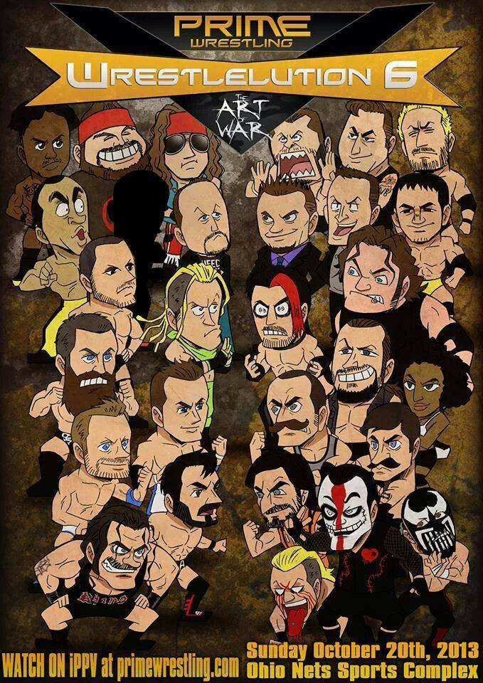 Wrestleution 6 Poster