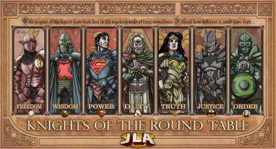 From Deviantart.com JLA Knights by TheComicFan