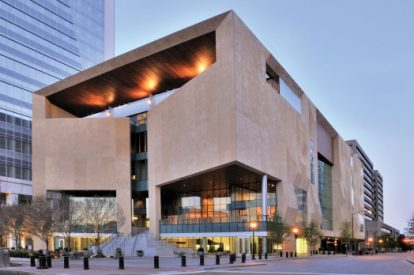 The Mint Museum Uptown in Charlotte NC was designed by Machado & Silvette and Associates. Saved from mintmuseum.org