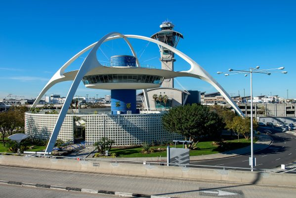 Theme Building in Los Angeles. Saved from globetrekimages flickr account by way of skyrisecities.com