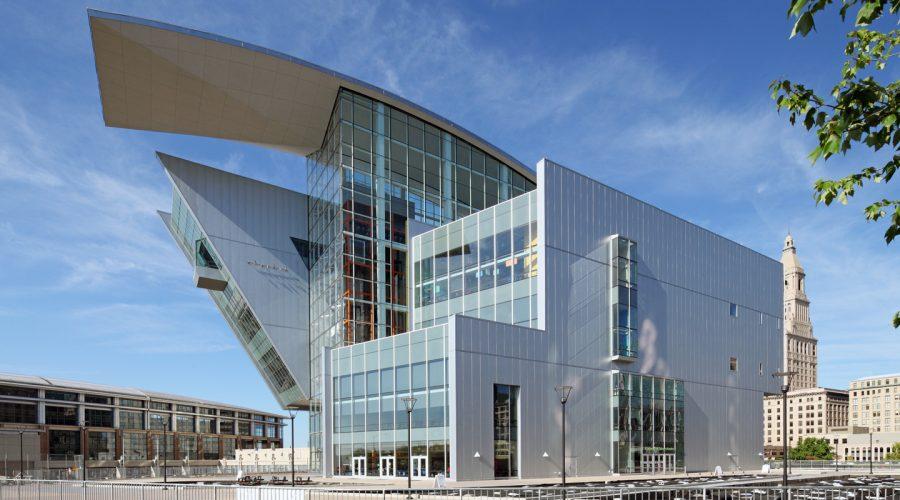 Connecticut Science Center in Hartford CT. Designed by Cesar Pelli & Associates.