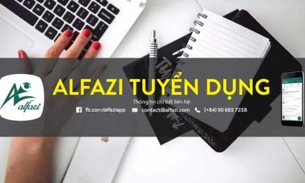 Startup Alfazi Tuyển Thực Tập Sinh 2016