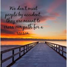 you always meet someone for a reason and season
