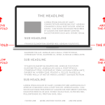 Ensure your websitecopywriting is primarily above the fold