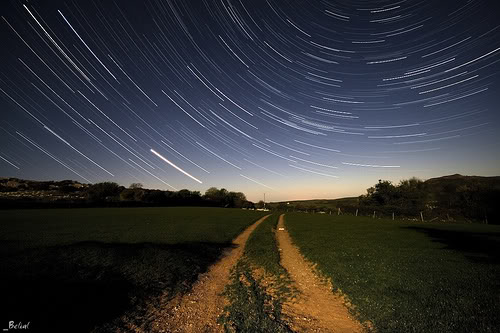 Pic of spinning stars.