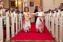 Sarah and Lilly as flowergirls in Uncles wedding. Ans Yes I made the dresses! ;)
