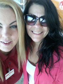 Aww me and my daughter in law, Emily!