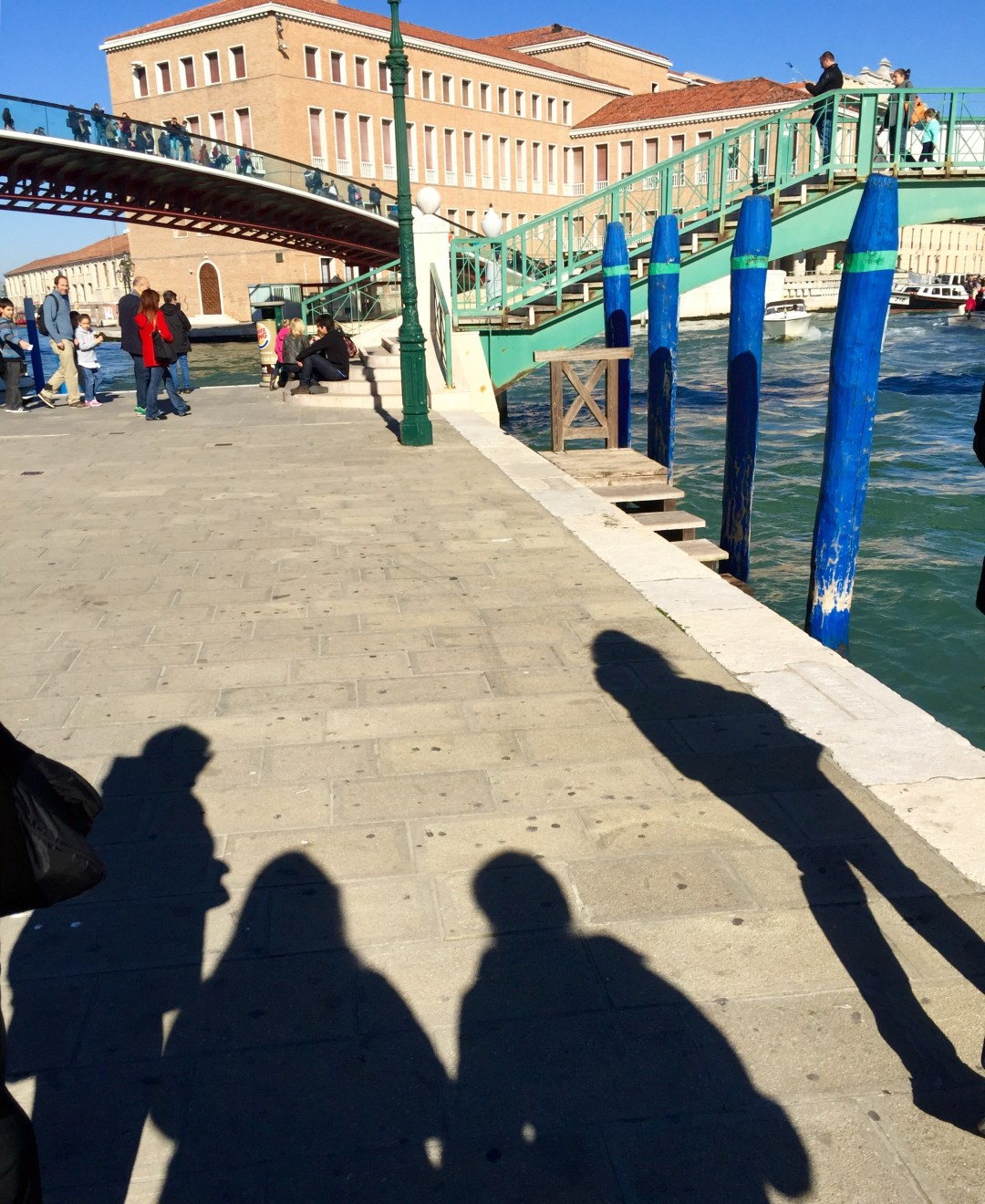 Meeting girlfriends in Italy