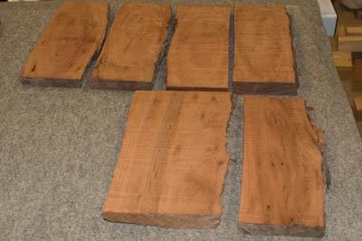 As-cut boards