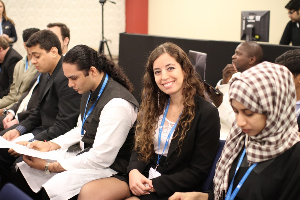 Young People in Pitching Session