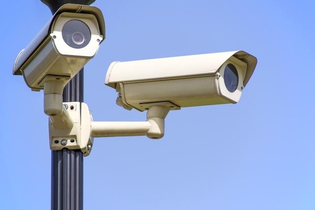 Smart Camera on Pole