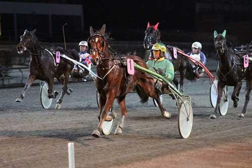 Racer Bourbon-sønnen Arthur Halbak vandt  sin tredje sejr i år. Foto Martin Timm Holmstav