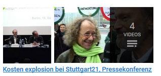 """Video-Beiträge von fluegel.tv zur Aktion am """"Bahntower"""""""