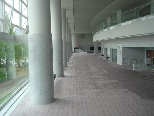 Sunday in the Biwako Hall Foyer, Otsu