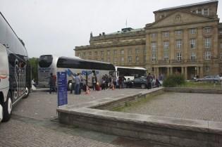 Departure in Stuttgart
