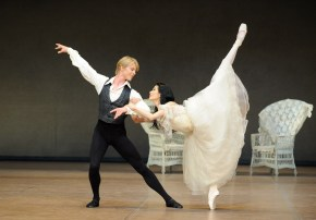 Sue Jin Kang (Marguerite Gautier) and Marijn Rademaker (Armand Duval)