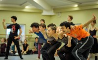 Rehearsal for Romeo and Juliet