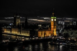 Last night was our only free evening in London which many dancers used for sightseeing. Here Roman Novitzky's breathtaking photo of Big Ben and the Houses of Parliament by night.
