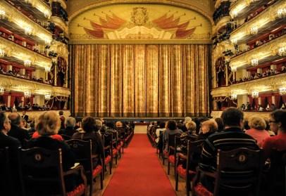 The auditorium at the premiere