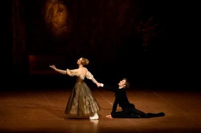 Alicia Amatriain, Friedemann Vogel in the last pas de deux of Onegin