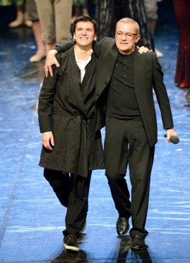 Applause after the world premiere: Demis Volpi and Reid Anderson