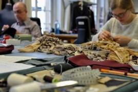 The costume department is working on Tim van Steenbergen's designs for Firebird