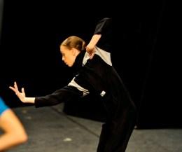 Anna Osadcenko in the rehearsal