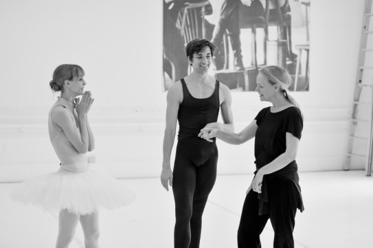 Alicia Amatriain, Friedemann Vogel, Ballet mistress Andria Hall