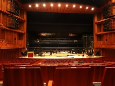 The stage of the Hyogo Performing Arts Center
