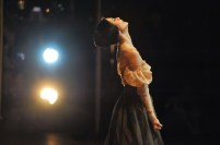One of the most famous poses in ballet: Tatiana at the end of Onegin.