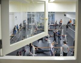 In the studios of the Tokyo Ballet