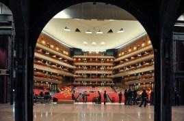 The auditorium of the Bunka Kaikan Theater