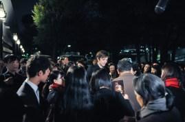 Friedemann Vogel with his fans