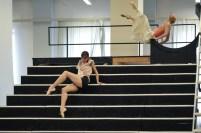 Elisa Badenes and Alicia Amatriain in a Salome rehearsal