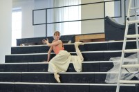 Alicia Amatriain in a Salome rehearsal
