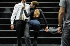 Miriam Kacerova in a rehearsal for Salome