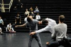 Salome rehearsal: Demis Volpi and the dancers
